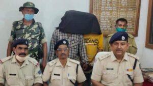 लेवी वसूली सहित कई मामलों में थी पुलिस को तलाश