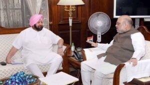 गृहमंत्री, राष्ट्रीय सुरक्षा सलाहकार और अब प्रधानमंत्री से मुलाक़ात करेंगे कैप्टन अमरिन्दर सिंह