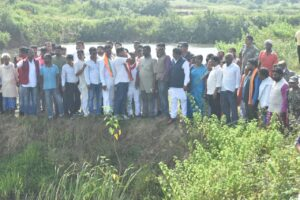 अमर बाउरी के नेतृत्व में भाजपा प्रतिनिधिमंडल ने घटनास्थल का मुआयना किया