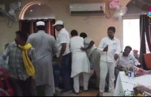 कांग्रेस के पुराने कार्यकर्ता जेवीएम से कांग्रेस में आए कार्यकर्ताओं की दबंगई से थे नाराज