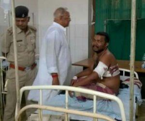 मंटू सोनी ने कहा है कि वह ढेंगा गोलीकांड का पीड़ित है। लेकिन पुलिस ने उसे अभियुक्त बनाकर जेल भेज दिया था।