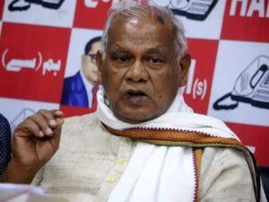 धर्म के ठेकेदारों को पसंद नहीं कि दलित उनके ग्रंथो पर सवाल उठाए- जीतनराम मांझी