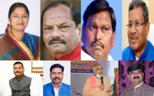 भाजपा की राष्ट्रीय कार्यसमिति में झारखण्ड के आठ चेहरे