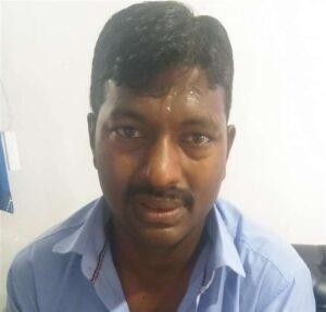 मुख्यमंत्री आवास के ठीक सामने से हुई मुंशी राकेश की गिरफ्तारी
