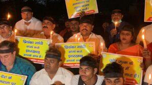 प्रियंका गांधी को गिरफ्तार और दोषी मंत्री और उसके बेटे आजाद हैं, ये नहीं चलेगा
